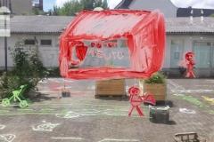 Wunschproduktion: Malen, Bauen, Texten